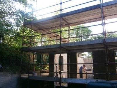 Scaffold for extension