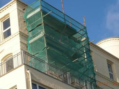 Balcony Scaffold