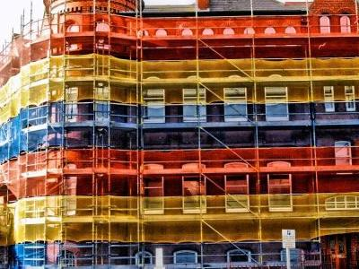 Government Building Scaffolding